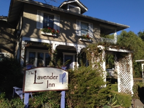 The Labender Inn in Ojai. I knew just from the name I'd love it.