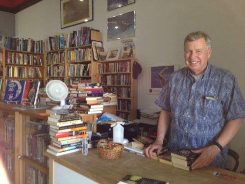 Boyd T. Davis, the very independent owner of Next Chapter Books in Canoga Park, California
