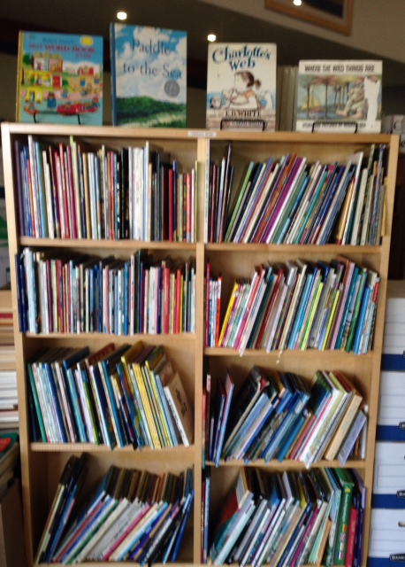 A section of the children's section
