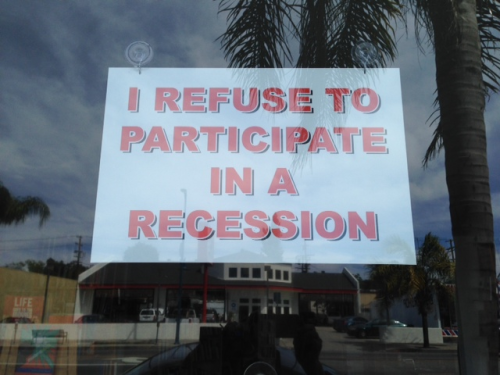 This sign in the window caught my eye, so I went inside...