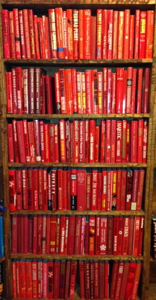 If you want a RED book, they have red books. Ditto BLUE, GREEN, WHITE, YELLOW and BLACK.