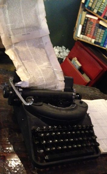 You'll be inspired to pull out your typewriter and start your novel
