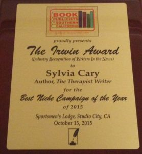 "The IRWIN Award for ""Best Niche Campaign"""