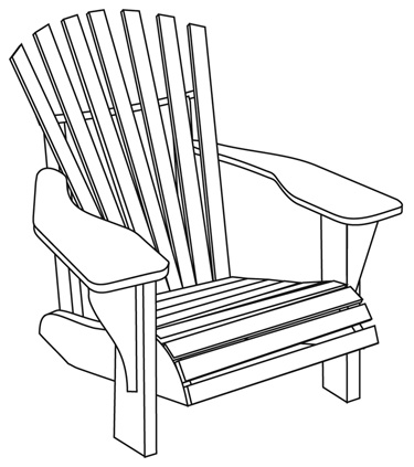 Another Loss And A Pair Of Lavender Adirondack Chairs